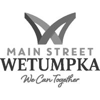 Main-Street-Wetumpka-Logo-Tagline_4C-black-white